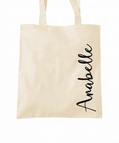 add a name tote bag