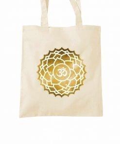 Crown Sahasrara Chakra Tote Bag