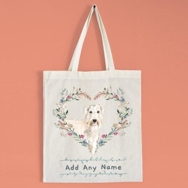 Personalised Wheaten Terrier Dog Tote Bag